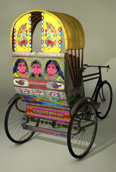 Projet:Rickshaw. Beauty of Bangladesh
