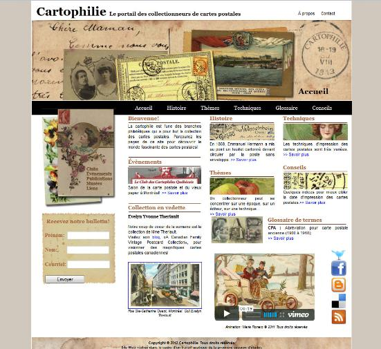 cartophilie
